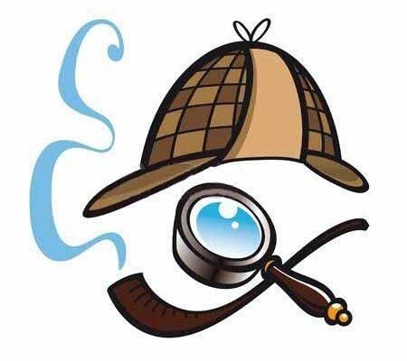 11783121-detective-sherlock-holmes-hoed-pijp-glazen-lens-politie-zoeken-vinden