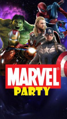 Вечеринка в стиле супергероев
