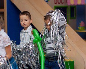 серебренное шоу для детей